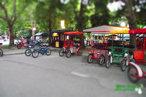 Bulgaria, Albena, Biciclete Tandem