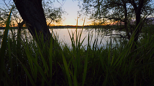 Day 174 - Sunset over Blue Heron Lake by Tim Bungert