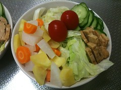 朝食サラダ(2011/6/29)