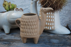 Unglazed David Stewart Camel (krakencrafts) Tags: animal modern mexico camel planter midcentury californiapottery davidstewart lionsvalleystoneware
