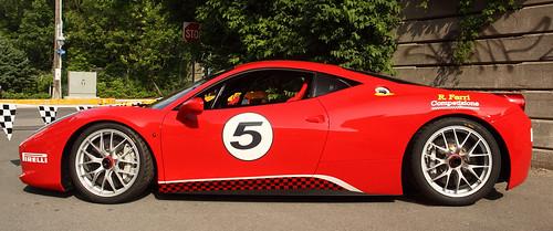 Ferrari 458 Italia Challenge - 2011 Ottawa Ferrari Festival