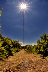 _DSC3451 (sara97) Tags: sun tower sunshine bluesky missouri saintlouis broadcasttower kdhx kdhxfm881 kdhxtowersite kdhxcommunitymedia photobysaraannefinke copyright2011saraannefinke 2011towersiteproject