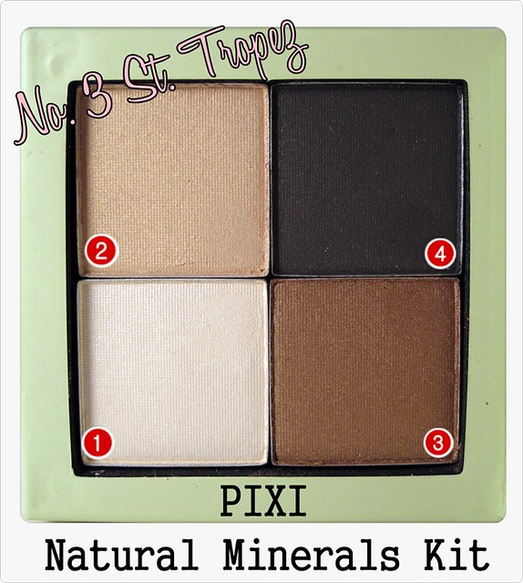 "PIXI Natural Mineral Kit ""St. Tropez"""