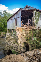 Falls of Rough Mill - 2016 (AP Imagery) Tags: mill saw falls decay aging ky fallsofrough rural historic greenbrothers kentucky urbex collapse farm collapsed grist woolen roughriver usa
