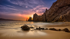 Playa del Amor (Lover's Beach) (ste_van) Tags: landsend beach loversbeach playadelamor seaofcortez sunrise sunset