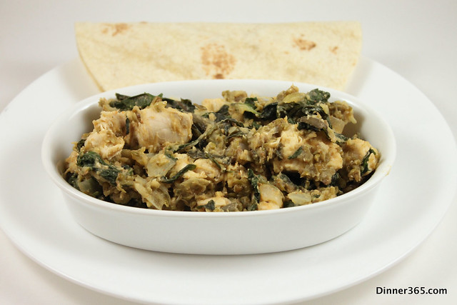 Day 79 - Swiss Chard and Moong Dal Chicken