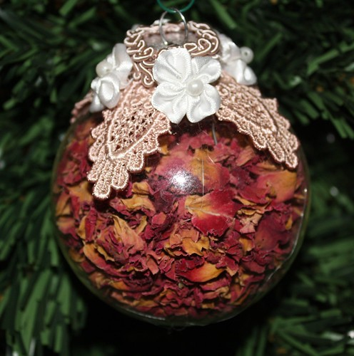 Rose Petal Bauble