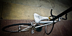 CHICAGO 03 13-7062 (RichardDemingPhotography) Tags: urban chicago streets canon bikes milleniumpark thebean canoneos downtownchicago chicagotheater onthestreets winterinchicago canoncameras apocalypsedecadence expressivelives canonworldwide amazingchicago