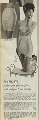 Spiegel 1963 Sarong girdle (genibee) Tags: woman fashion vintage costume underwear spiegel bra panty catalog 1960s hairstyle sarong sixties spandex 1963 girdle
