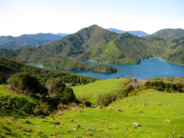 Queen Charlotte Sound, Marlborough Sounds, New Zealand