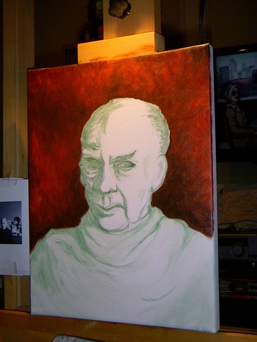 Week 5 bellmer portrait- In Progress