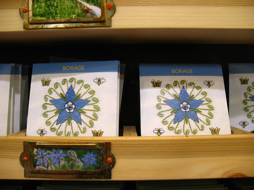 the best seed packets ever: Borago