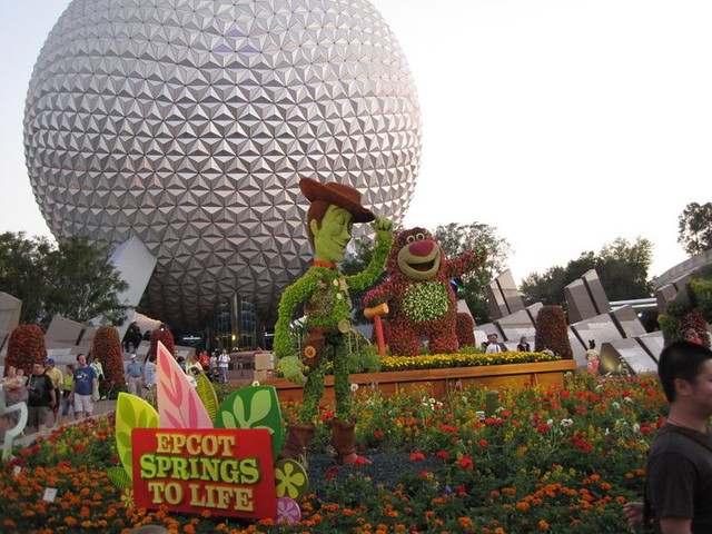 Epcot Flower Show at Disney World
