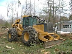 DSCF4676 (M.Bouzakine) Tags: forestry logging valmet skidder timberpro knuckleboomloader 445exl deere648g