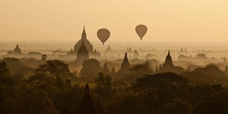 Sunrise on Bagan - Myanmar