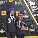 BC Ski Team racers Tyler Werry and Sarah Freeman, both of the Fernie Alpine Ski Team, took Top Junior honours in Downhill at Nakiska 2011 Canadian Championships