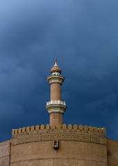 Nizwa fort and mosque - Oman (Eric Lafforgue) Tags: vertical architecture outside outdoors exterior outdoor minaret muslim islam nobody nopeople mosque arabia cult mosquee oman nizwa dehors musulman omn  sultanate arabie culte  colorpicture traveldestination sultanat vueexterieure arabianpeninsula photocouleur arabicstyle om  omo umman omaan nizwacastle colourpicture     omna omanas umn stylearabe penisulearabique 4459008