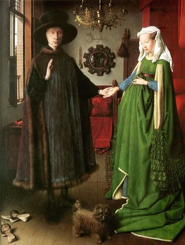 Jan van Eyck - El matrimonio Arnolfini - 1434