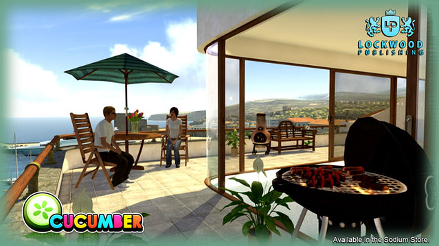 Lockwood Garden Furniture  for PlayStation Home
