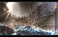 Port Weller Blues (Paul B0udreau) Tags: blue sunset sun ontario canada blur canal signature samsung rope niagara master layer harbourfront stcatharines hdr picnik hypothetical wellandcanal photomatix tonemapping artdigital sharingart maxfudge awardtree samsungmaster fujifilmfinepixs1500 trolledproud crazygeniuses paulboudreauphotography netartii artdigitalexcellence netartiispecialaward