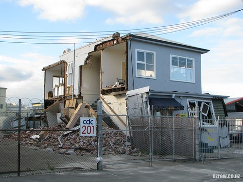 A Damaged Christchurch Clinic to be Demolished