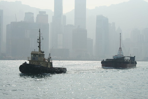 2011-02-25 - Hong Kong - Ferry - 04 - Passing boats