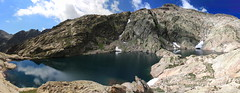 Lacs Bessons, Mercantour (monchoparis) Tags: mountain lake france montagne alpes canon lago eos lac valle valley montaa francia mercantour valle 500d bessons boredon cougourde tamron18270