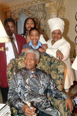 DSCF6504 Make Poverty History - Nelson Mandela (photographer695) Tags: poverty africa history make for high with south nelson her commissioner mandela excellency lindiwe mabusa