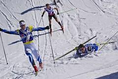 Red Bull Nordix v Davosu - Kožíšek upadl metr před cílem