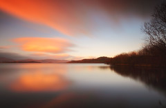 Sunset at Cameron House (lordoye) Tags: sunset reflections scotland lochlomond cameronhouse gloaming sigma1020mm ndfilter neutraldensityfilter nd110 canoneos7d bwnd dautimelongexposure