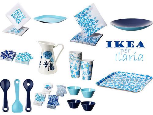 oggetti azzurri Ikea 2011