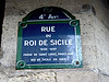 MM - Histoire : Rue du Roi de Sicile, Le Marais, Paris 4ème