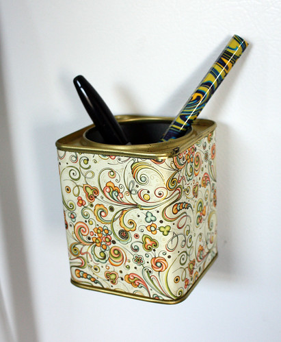 Tea Tin Magnet