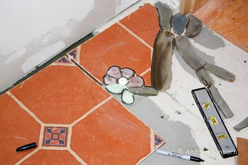 Meeyauw Kitchen Floor 2 Stone Inlay