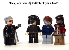 Goggle Wear (Oky - Space Ranger) Tags: star funny lego harry potter wear anakin wars madam quidditch clone goggle skywalker hooch luminara hondo ohnaka