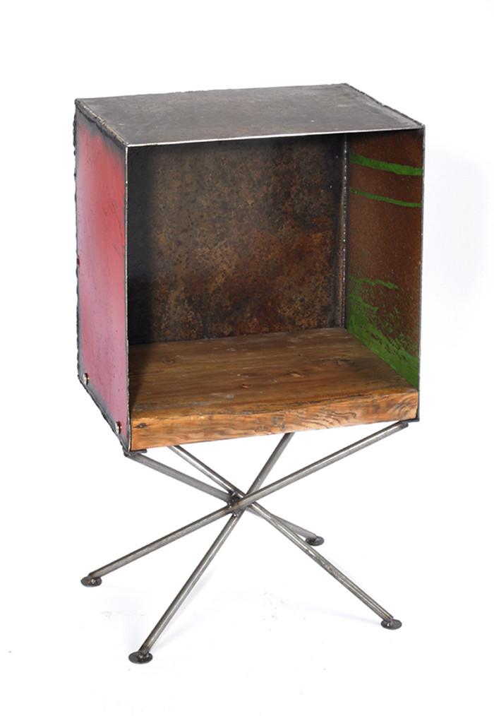 Box Shelf Table