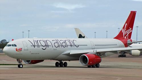 atlantic airbus photo Virgin