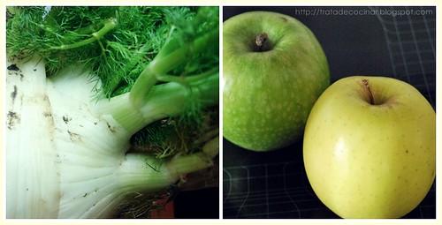 Hinojo y manzana
