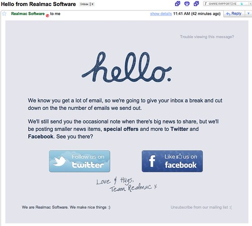 Gmail - Hello from Realmac Software - cspenn@gmail.com