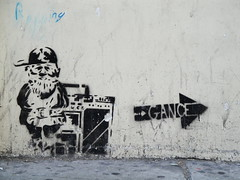 San Francisco (ReignmanP) Tags: sanfrancisco california graffiti stencil gance