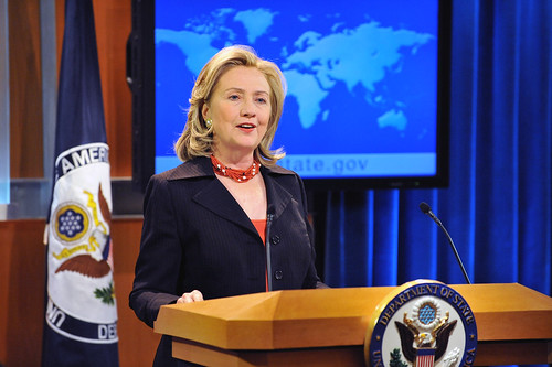 Secretary Clinton Releases the Annual Human Rights Report