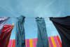 Laundry hanging to dry on clothes-line (!.Keesssss.!) Tags: sky netherlands horizontal outdoors photography clothing day nopeople clean laundry hanging clothesline hygiene domesticlife chores gettyimages clothespin routine inarow gelderland royaltyfree colorimage lowangleview theflickrcollection keessmans 206ksgetty