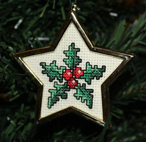 Holly Cross Stitch