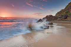 Splashed! (MADdOG PHOTOGRAPHY) Tags: lighting longexposure morning sunset seascape beach water clouds photoshop sunrise canon reflections landscape gold coast landscapes exposure paradise scenic sunsets australia filter maddog queensland sunrises scape eastcoast pictureperfect goldcoast sigma1020mm simplepleasures 1020mmsigma canon40d absolutelystunningscapes longexposureseascape seascapelongexposure