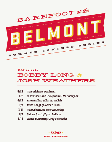 Barefoot at the Belmont Poster