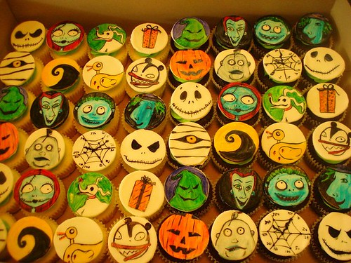 nightmare before christmas by Little Sweeties Cupcakes