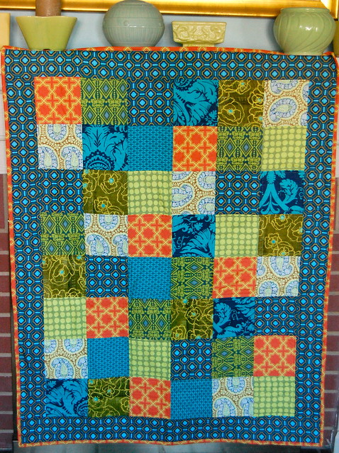 Handsome Baby Boy Quilt
