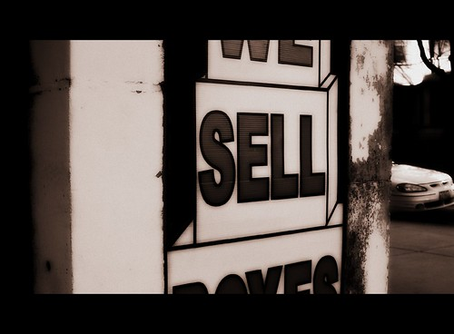 Sell. by afunkydamsel, on Flickr