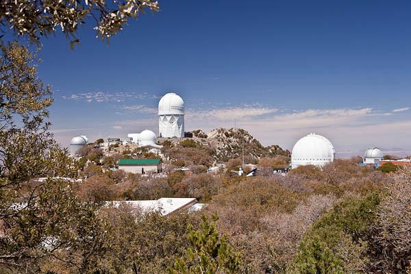 Observatories on Kitt Peak