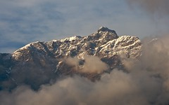 unknown peak (Partha) Tags: morning camping india snow trekking hiking tent uttaranchal himalaya hdr kund garhwal partha lakereflection uttarakhand ukhimath tungnath chowdhury chopta chandrashila deoriatal devariyatal sarivillage parthachowdhuryphotography